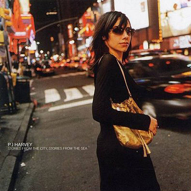 PJ Harvey - Stories From The City, Stories From The Sea album cover