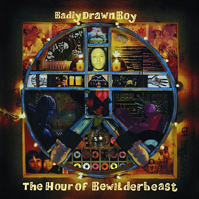 Badly Drawn Boy - The Hour Of Bewilderbeast album cover
