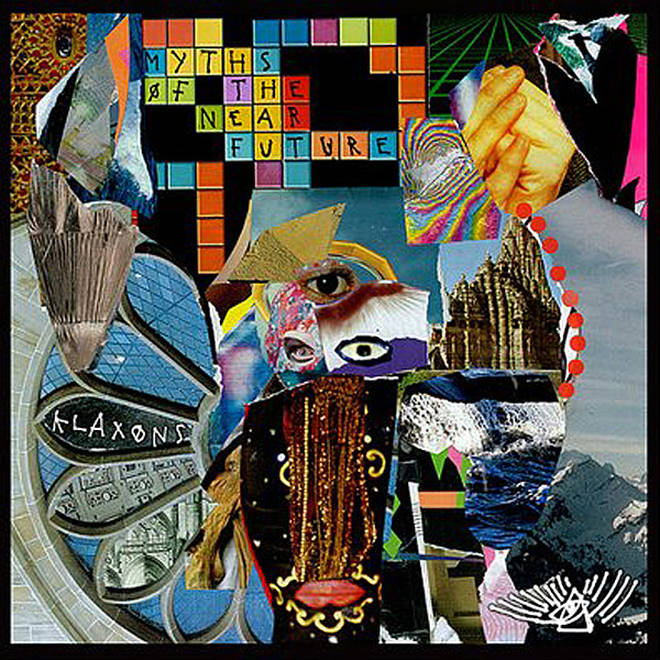 Klaxons - Myths Of The Near Future album cover