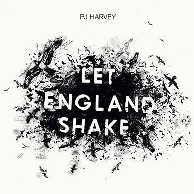 PJ Harvey - Let England Shake album cover