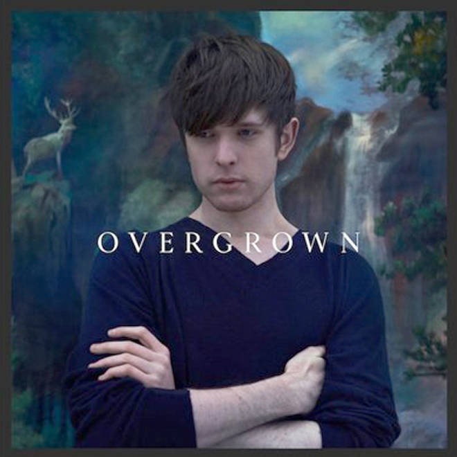 James Blake - Overgrown album cover