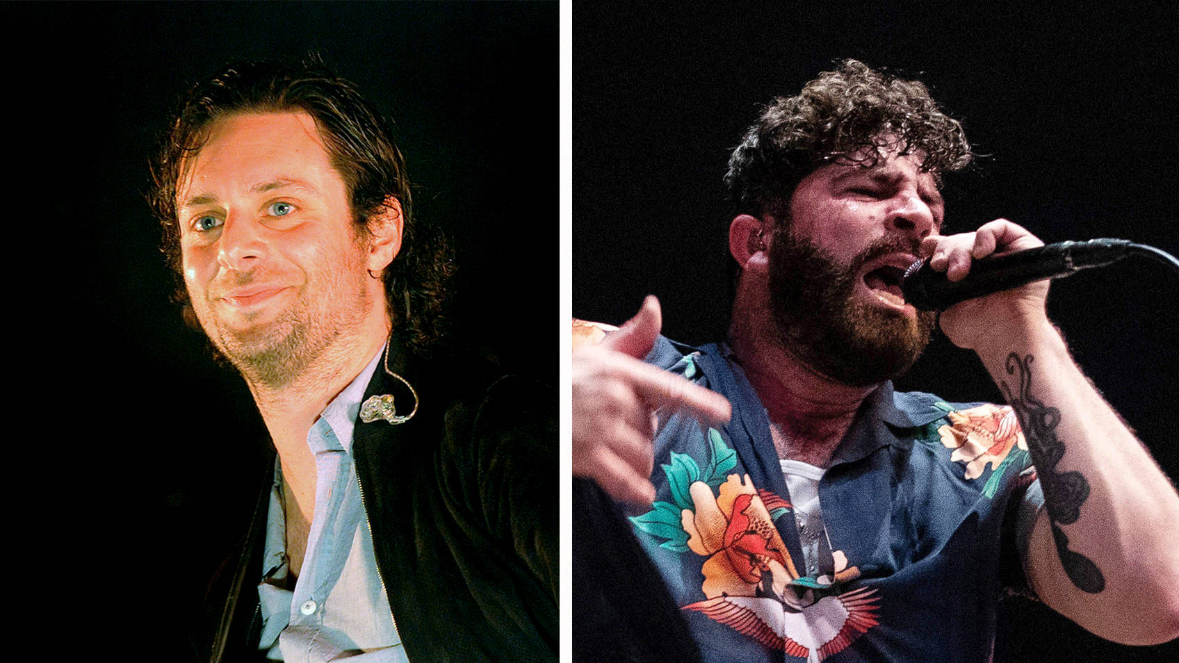 WATCH: Former Maccabees' guitarist Felix White plays with Foals at Mercury Prize after Yannis cuts hand