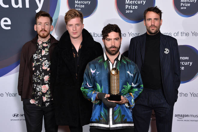 Foals arrive at Hyundai Mercury Prize: Albums of the Year 2019
