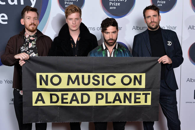 Foals at the Hyundai Mercury Prize 2019