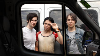 Ross Jarman, Ryan Jarman and Gary Jarman from The Cribs, 2009