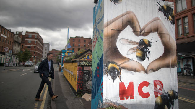 Manchester tribute mural