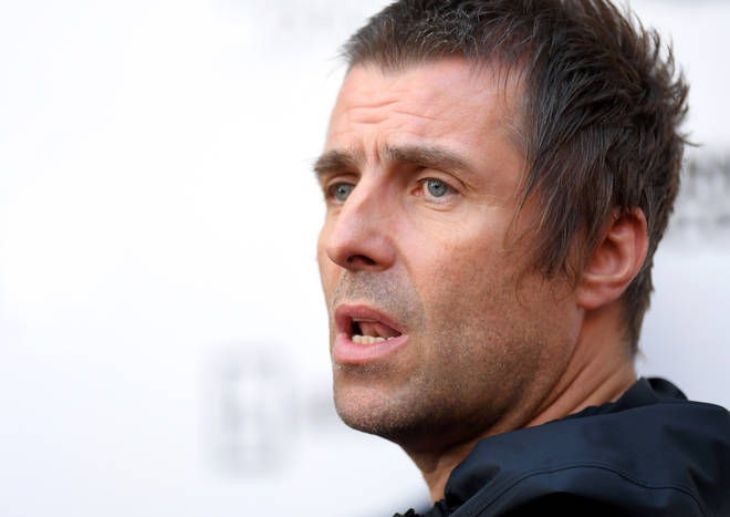 "Liam Gallagher attends the World Premiere of ""Liam Gallagher: As It Was"" at Alexandra Palace on June 06, 2019"