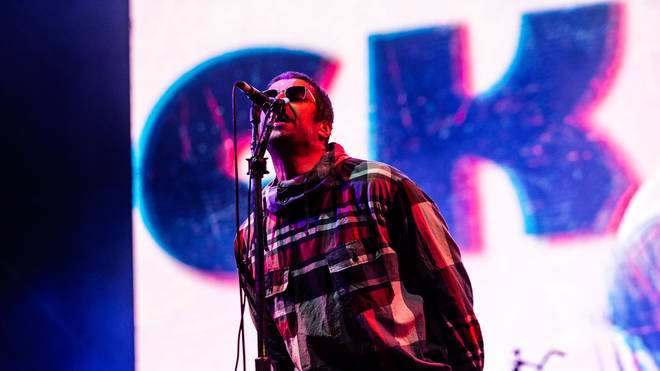 Liam Gallagher performs in Italy, 2019