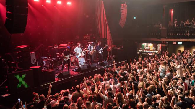 Sam Fender plays Radio X presents Liam Gallagher at the O₂ Ritz