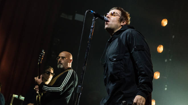 Bonehead joins Liam Gallagher on stage at the O₂ Ritz, Manchester