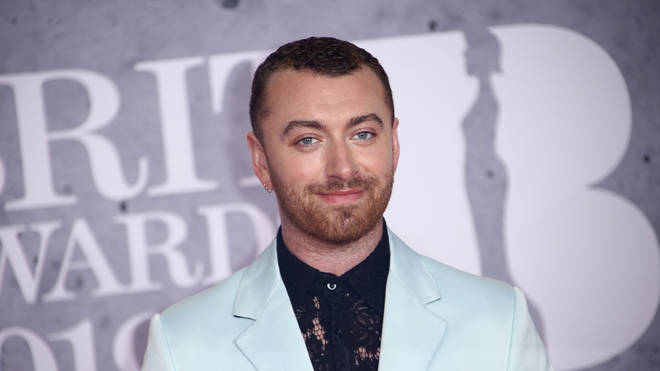 Sam Smith at the 2019 BRIT Awards ceremony