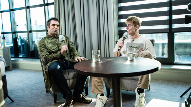 Liam Gallagher talks chart success with Sam Fender