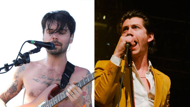 Biffy Clyro's Simon Neil and Arctic Monkeys' Alex Turner