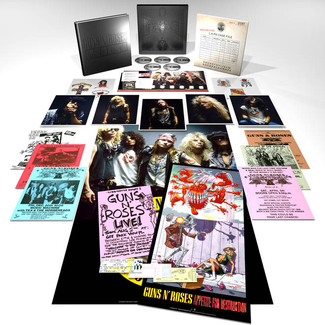 Guns N'Roses - Locked N'Loaded box set