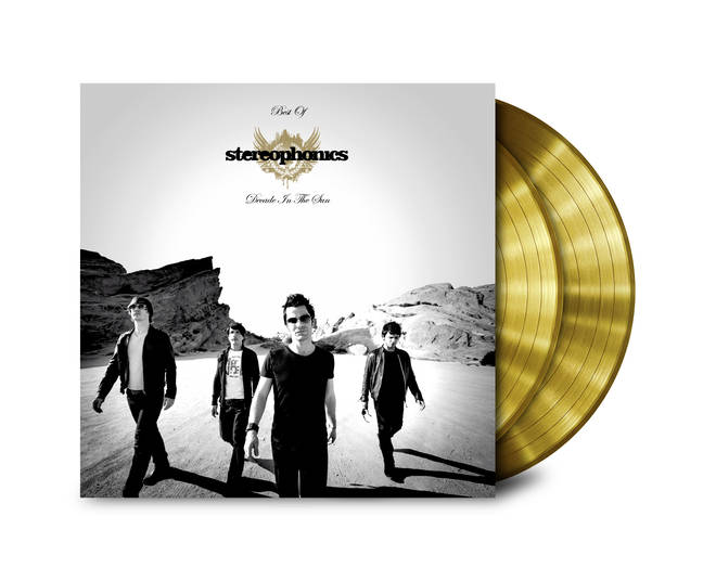 Stereophonics - Decade In The Sun gold vinyl