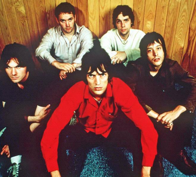 The Verve in 1997: Nick McCabe, Pete Salisbury, Simon Jones, Simon Tong and Richard Ashcroft.