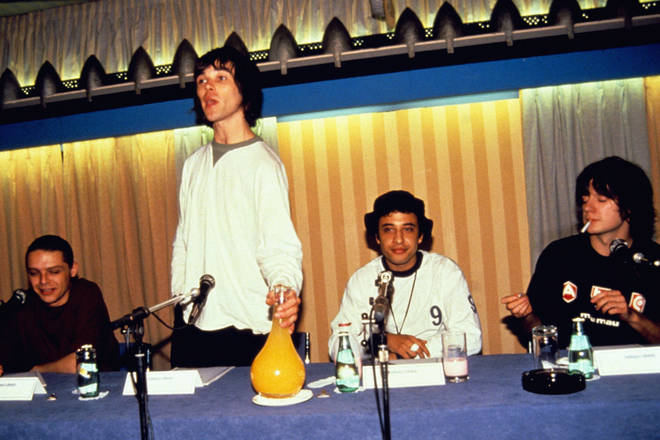 The Stone Roses Spike Island press conference