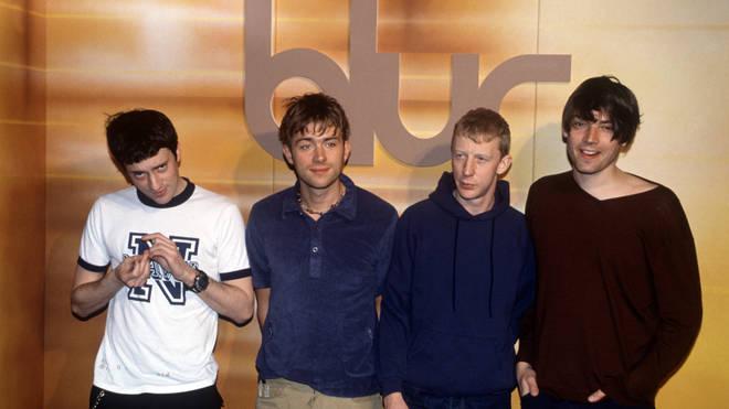 Blur in 1997: Graham Coxon, Damon Albarn, Dave Rowntree and Alex James