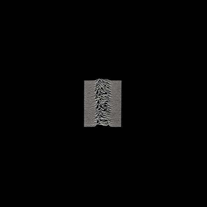 Joy Division - Uknown Pleasures album cover