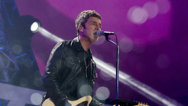 Noel Gallagher plays the Traditional Labour Day Concert Live In Piazza San Giovanni In Rome