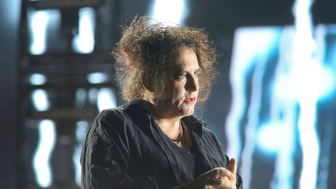 Robert Smith of The Cure October 2019