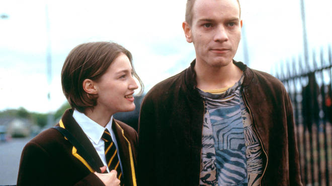 Kelly Macdonald and Ewan McGregor in Trainspotting
