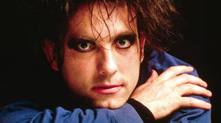 Robert Smith of The Cure in 1996