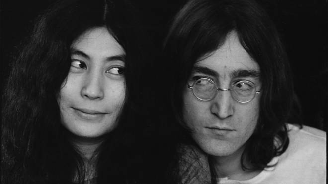 John Lennon and Yoko Ono in December 1968