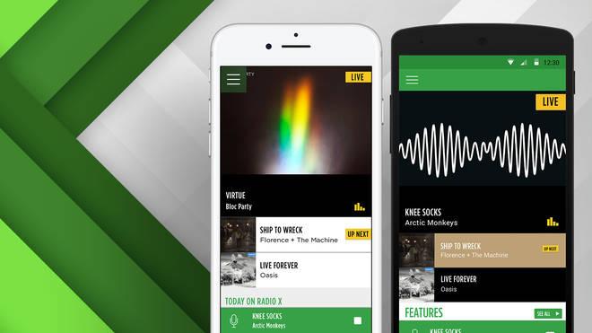Radio X apps