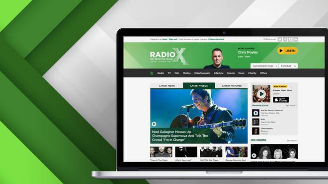 Radio X online