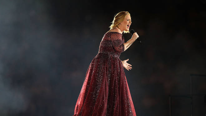 Adele performs at Etihad Stadium on March 18, 2017 in Melbourne, Australia
