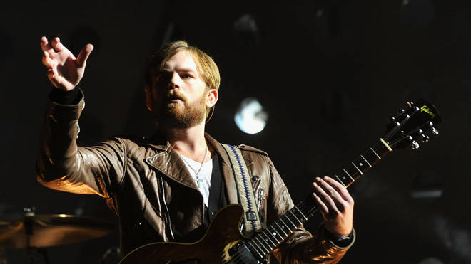 Caleb Followill of the Kings of Leon performs onstage during the MTV Europe Music Awards 2010