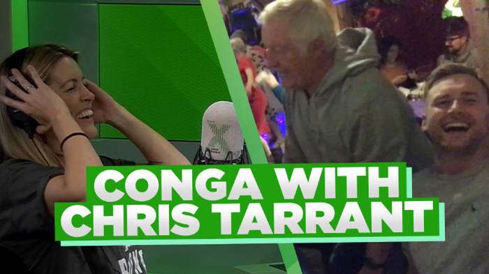 WATCH: Pippa & Toby doing the conga with Chris Tarrant is the best thing ever