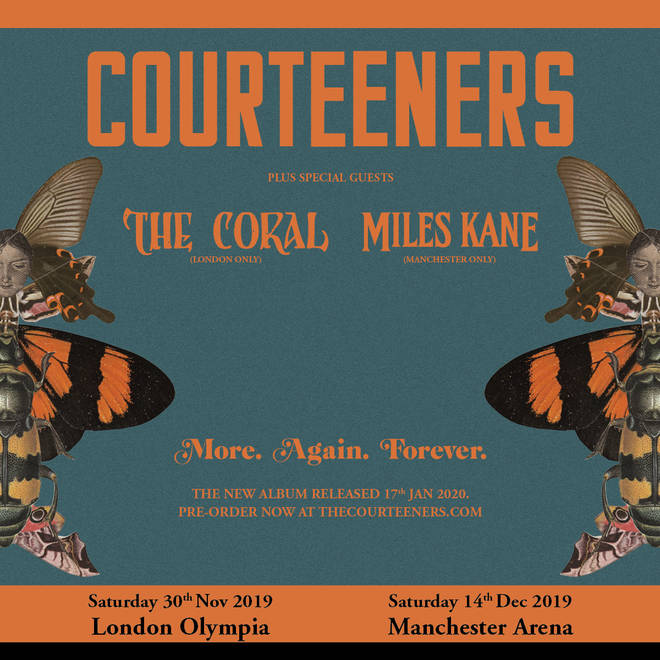 Courteeners support acts announced