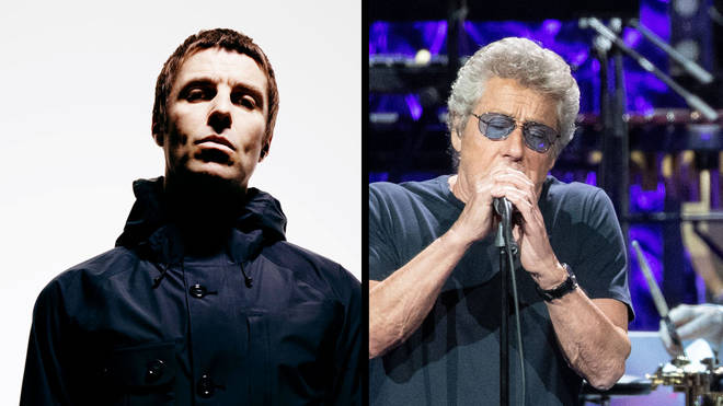 Liam Gallagher and The Who's Roger Daltrey