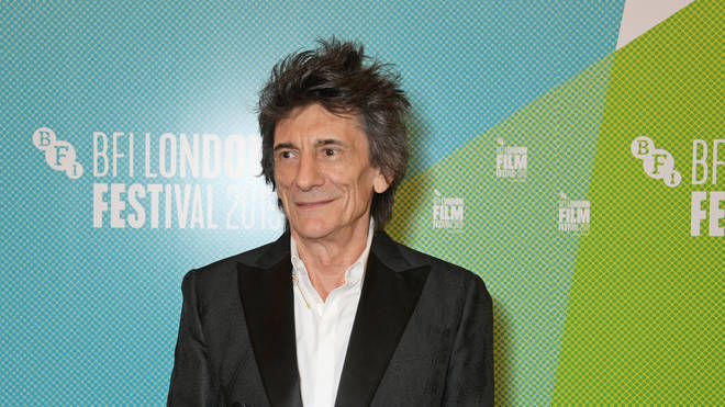 Ronnie Wood at the Somebody Up There Likes Me world premiere at the 63rd BFI London Film Festival