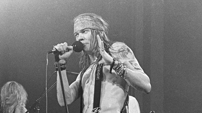 Guns N' Roses Axl Rose in 1998