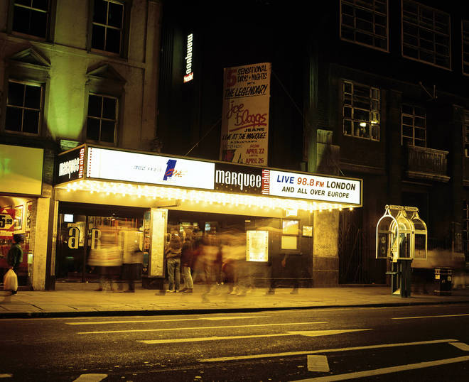 The Marquee after its move to Charing Cross Road in the early 90s