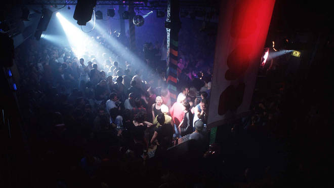 A club night at The Haçienda in 1992