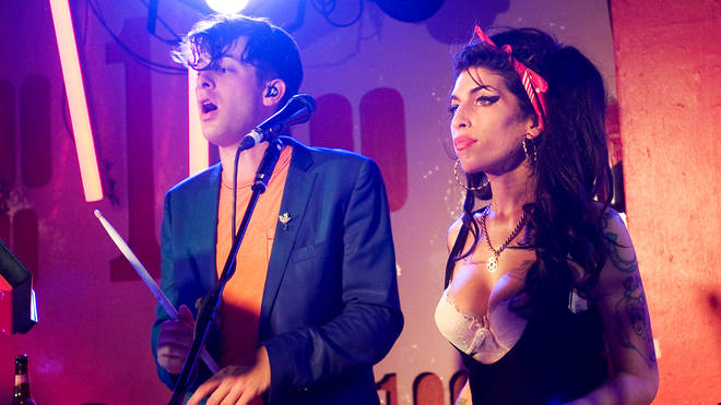 Amy Winehouse makes a surprise appearance as she performs with Mark Ronson at the 100 Club on July 6, 2010