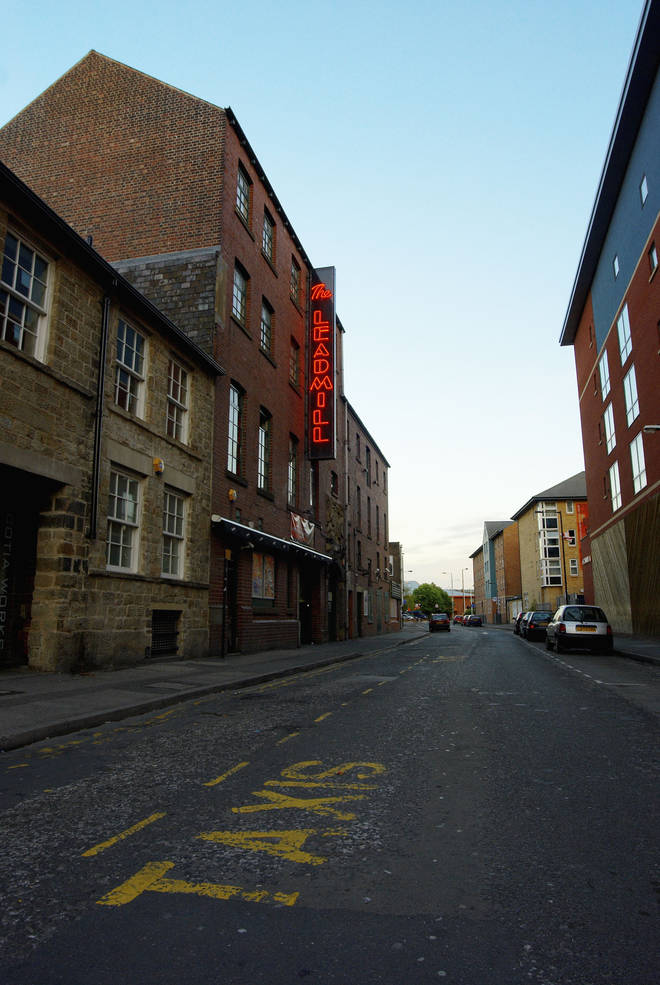 Exterior of the Leadmill, circa 2008