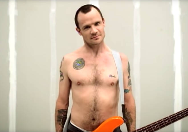 Flea in Red Hot Chili Peppers' Can't Stop video