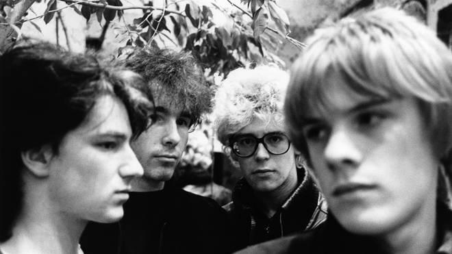 U2 in October 1980: Bono, The Edge, Adam Clayton, Larry Mullen Jnr