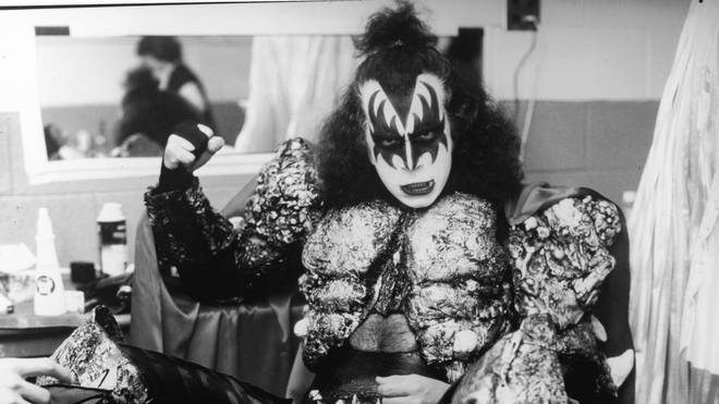 Gene Simmons of the rock band KISS