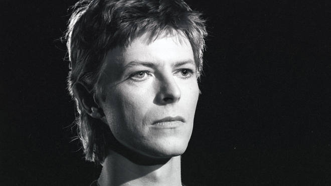 David Bowie in 1977