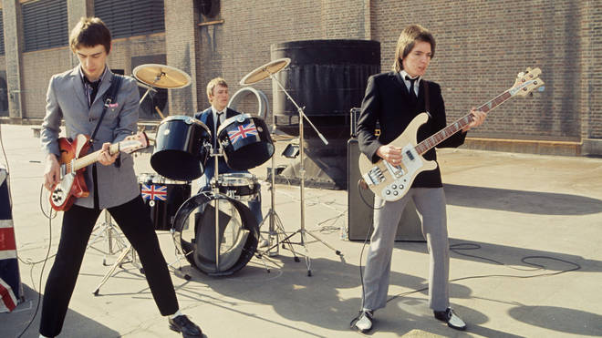 The Jam in 1979: Paul Weller, Rick Buckler and Bruce Foxton