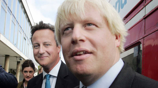 Boris Johnson Is Confirmed As Conservative Candidate For Mayor For London Elections With Leader David Cameron, September 2007