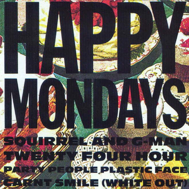 Happy Mondays - Squirrel And G Man album cover
