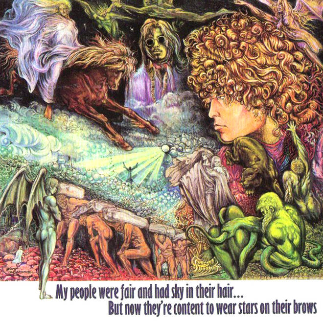 Tyrannosaurus Rex - My People Were Fair and Had Sky in Their Hair album cover