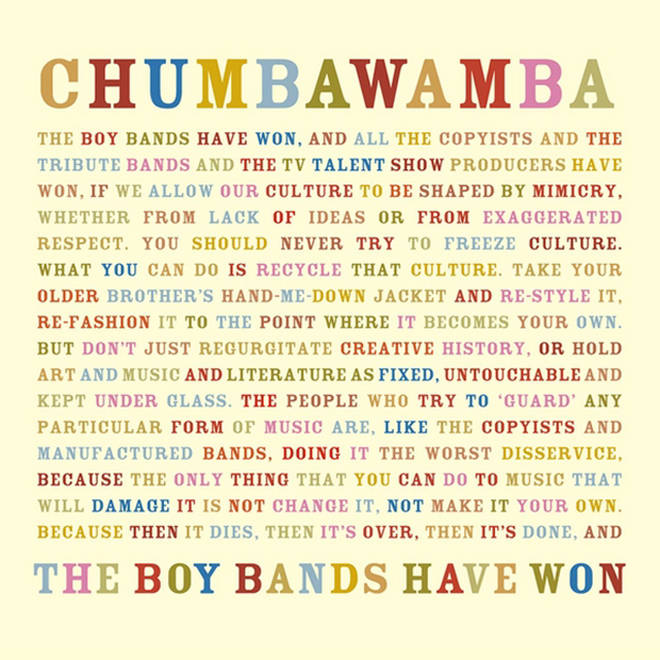 Chumbawamba - The Boy Bands Have Won album cover